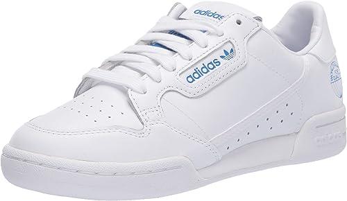 Adidas ORIGINALS Continental 80 Tenis para Mujer, Blanco ...