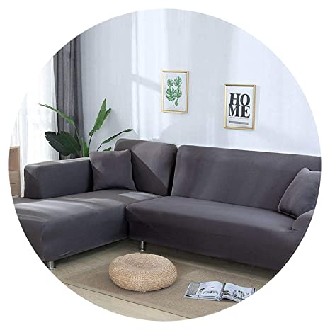 Jian Ya Na - Fundas de sofá Extensibles para sofá en Forma ...