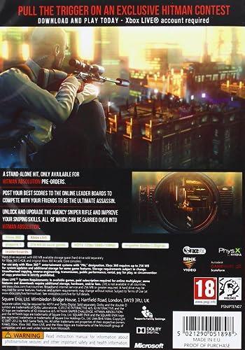 Hitman Absolution Sniper Challenge (XBOX 360) [importación inglesa ...