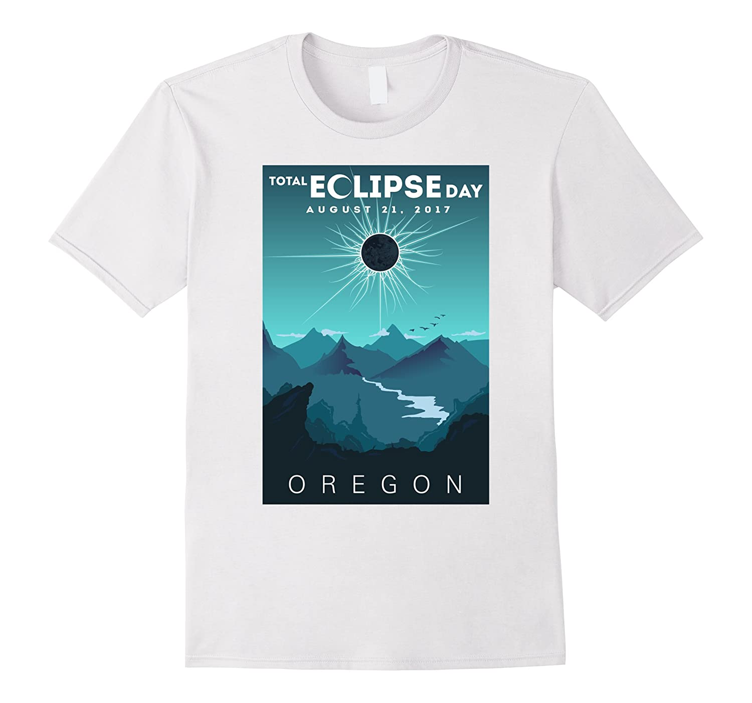 Total Donut Eclipse Tee