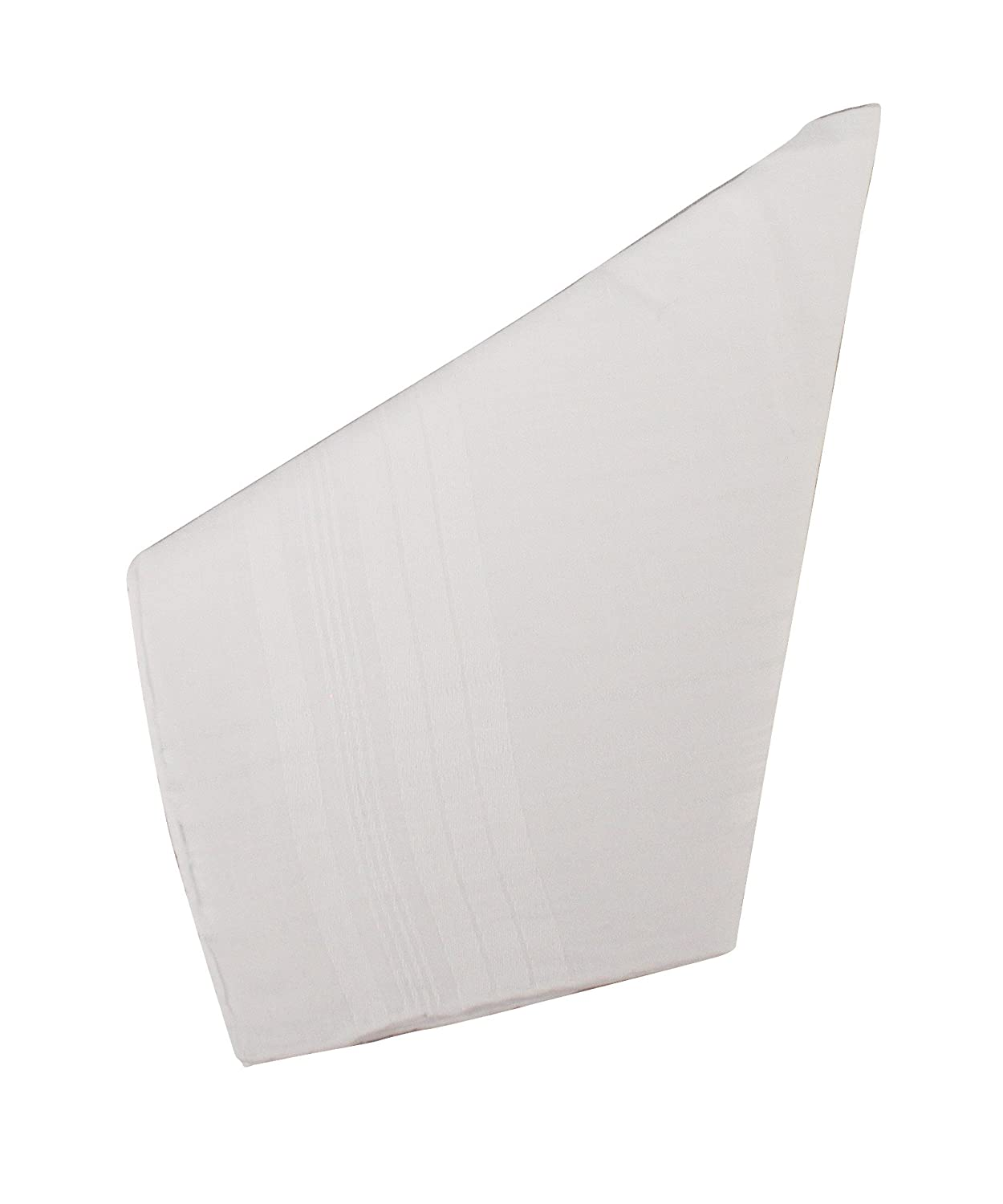 Weddingstar 8142 Gentleman's Plain Handkerchief, White Weddingstar Inc.