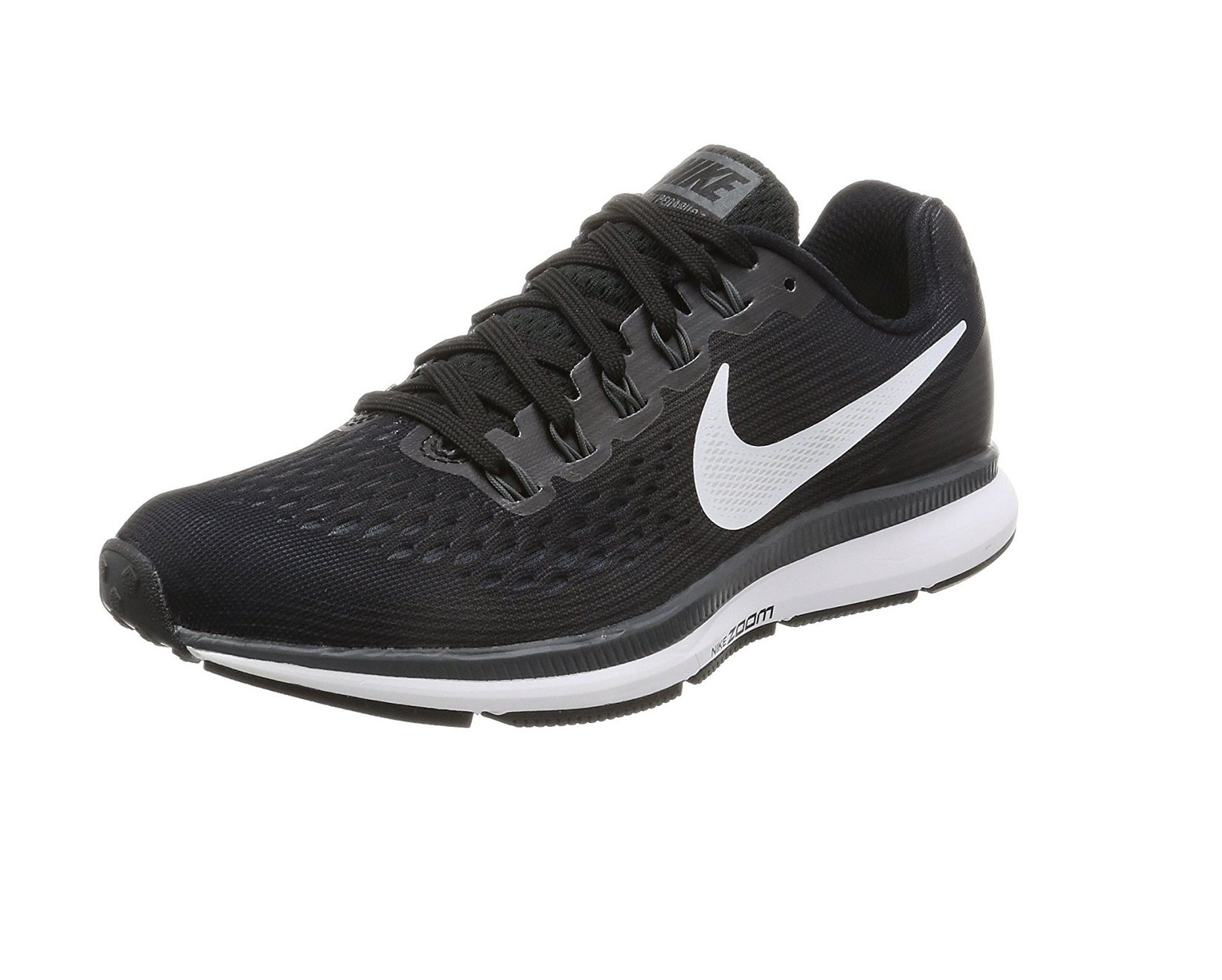 b736e7d2cd620 Nike Women's Air Zoom Pegasus 34 TB Running Shoe (7.5 B(M) US, Black)