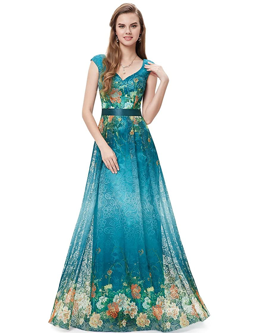 Ever-Pretty Womens Formal Spring Summer Wedding Guest Dress 12 US ...