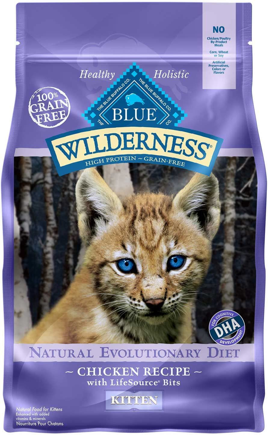 Blue Buffalo Wilderness Natural Kitten Dry Cat Food Image