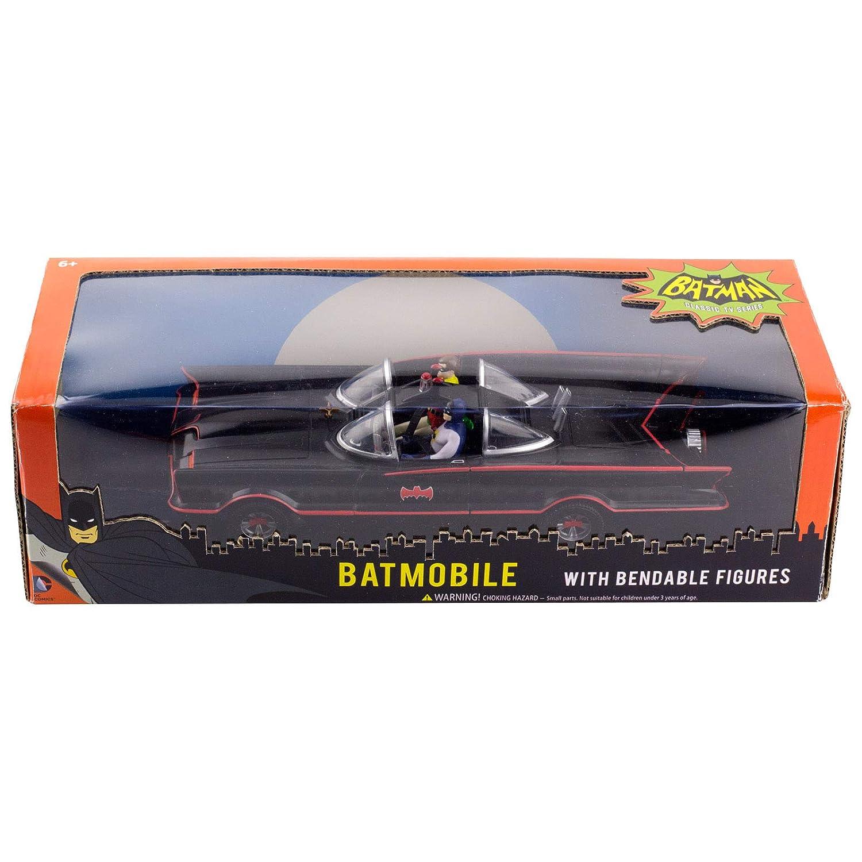 NJ Croce 10 Classic TV Series Batmobile with Bendable Figures NJ Croce Toys DC 3930 Accessory Toys /& Games