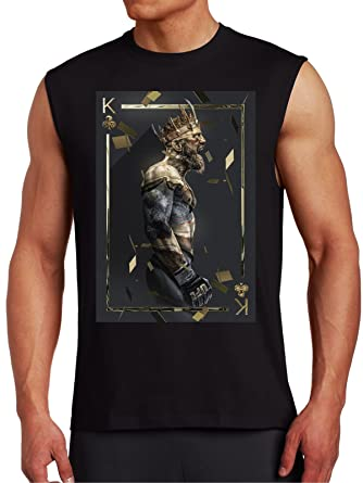 ed8c4a32 Conor McGregor 'King of Clubs' Muscle T by MYOS | Amazon.com