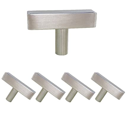 Charmant Homdiy Cabinet Knobs Brushed Nickel 5 Pack HDJ22SN Single Hole Knob With  2in Overall Length Knobs