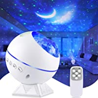 Perkisboby Galaxy Projector Star Projector, Night Light Projector with Remote Control, Nebula Cloud, Moon, Super Silent…