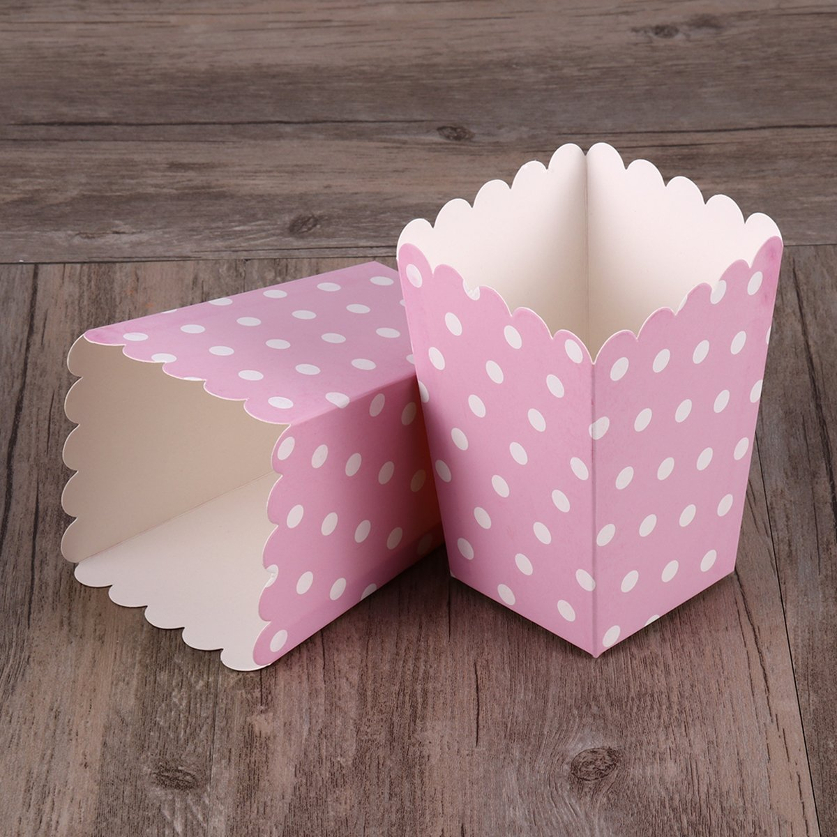 Amazon.com: NUOLUX Popcorn Boxes,Candy Containers Cartons Paper Bags ...
