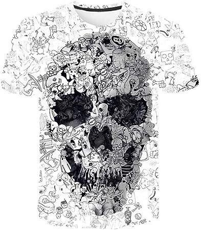 XIAOBAOZITXU T-Shirt Camiseta Moda Talla Grande Hombre y ...