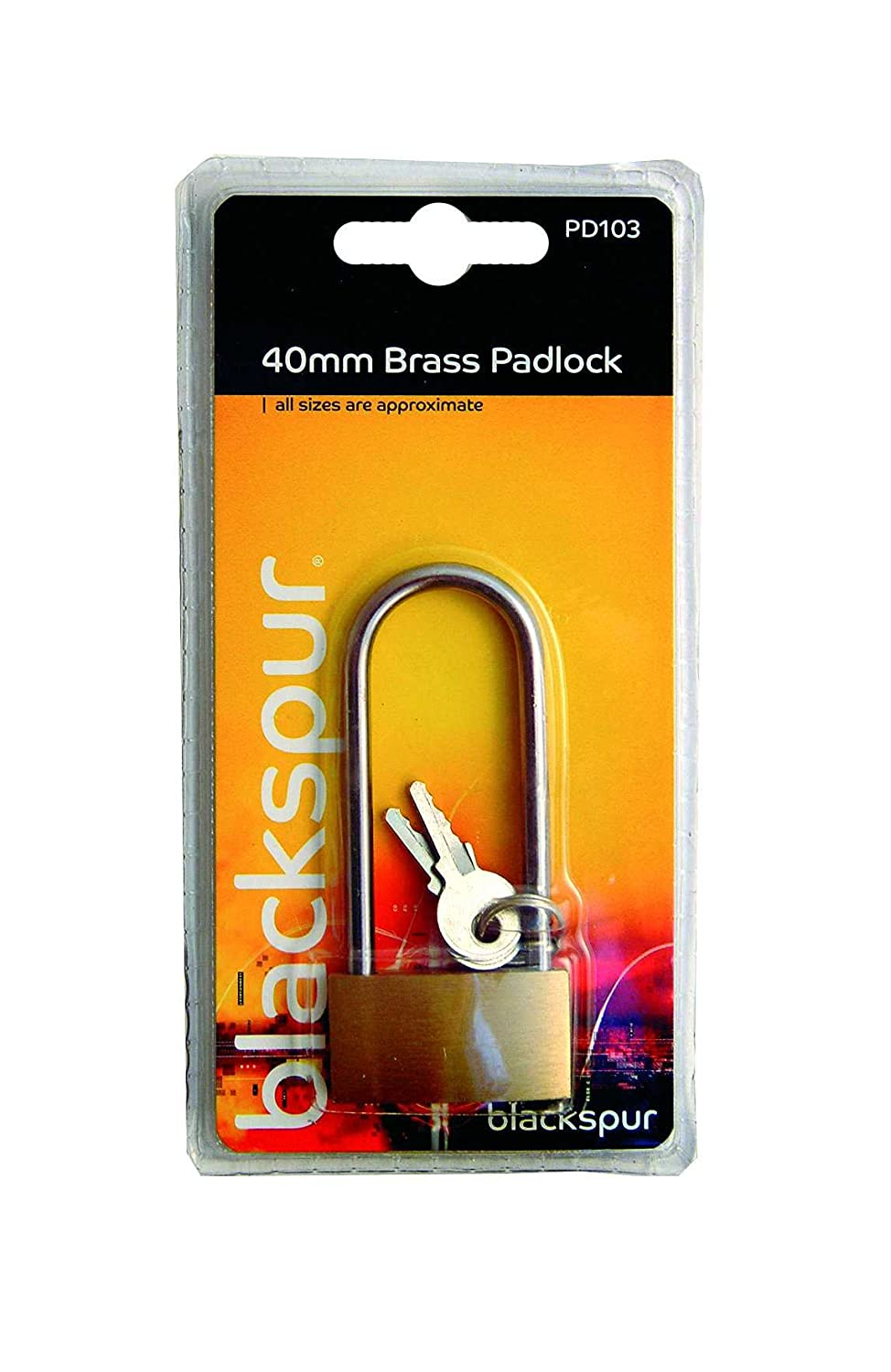 Cadenas Laiton 38mm Longue Anse Blackspur BB-PD103