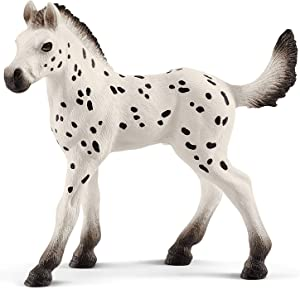 SCHLEICH Horse Club, Animal Figurine, Horse Toys for Girls and Boys 5-12 Years Old, Knabstrupper Foal