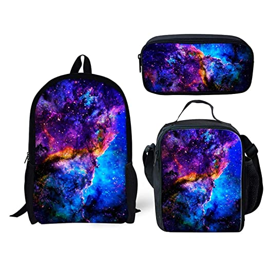 748802e86af2 FOR U DESIGNS Vintage Style Unisex Galaxy Grade Backpack for Elementary Kids