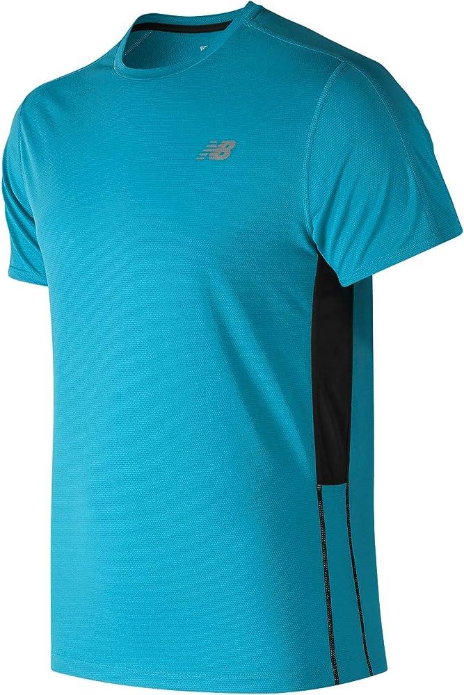 Camiseta/NEW BALANCE:Accelerate L Azul: Amazon.es: Ropa y accesorios