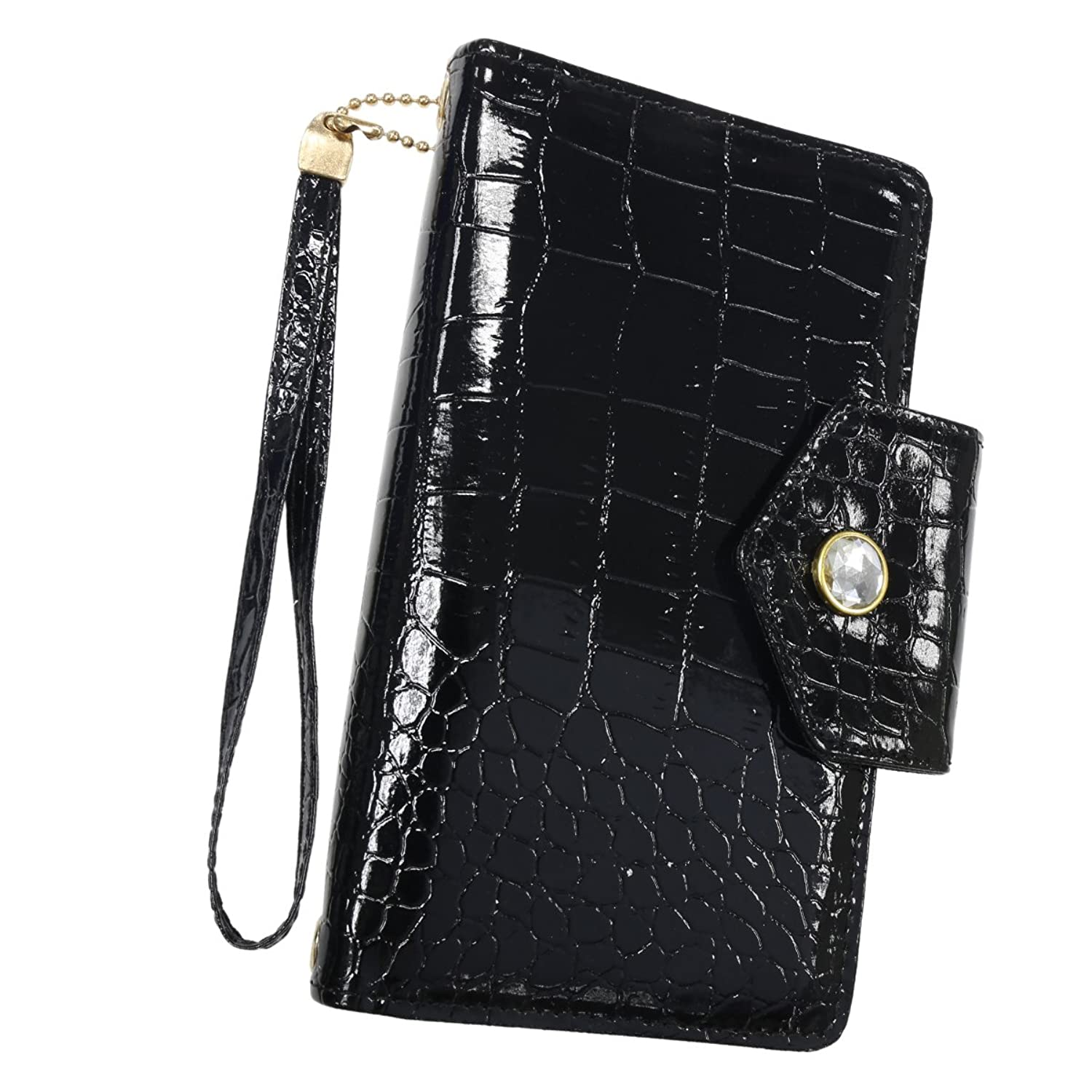 Clever Clutch: The purse that protects your cards & charges your phone in  Black!: Amazon.co.uk: Clothing