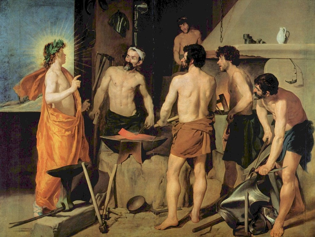 Lais Puzzle Diego Velázquez - Die Schmiede Vulkans 2000 Teile