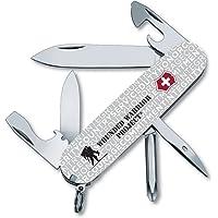 Victorinox Swiss Army Tinker Pocket Knife, Grey Jargon with WWP Logo