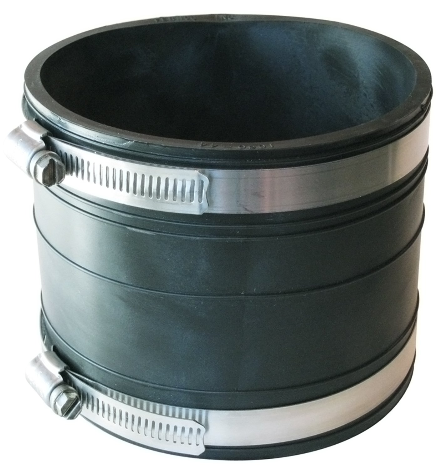 Fernco P1060-44 4-Inch by 4-Inch Rubber Flexible Socket Coupling Repair Fitting