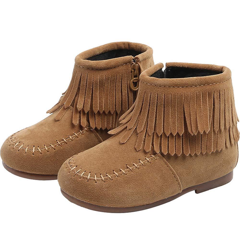 Botas Nieve Impermeables para Unisex Beb/é Ni/ños Ni/ñas Invierno Moda PAOLIAN Botines Planos Zapatos Ni/ñas Ni/ños Oto/ño Calzado Terciopelo sint/ética Termica con Borlas 12 Meses-6 a/ños