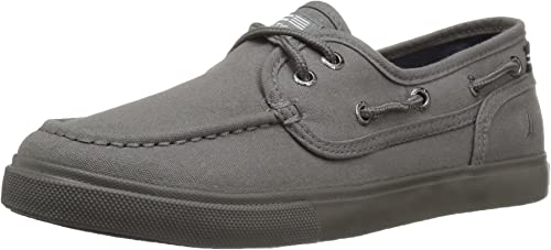 Nautica Kids Spinnaker Solid Boat Shoe