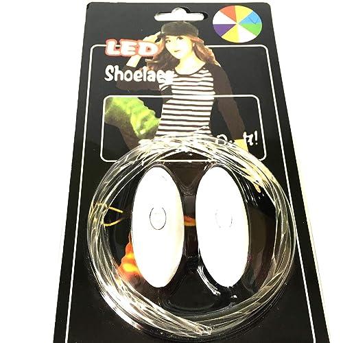 mirada detallada 8f745 424dc ONOGAL 2 Cordones Luminosos para Zapatillas Luminosas Deportivas Cordon Luz  de Led 2216