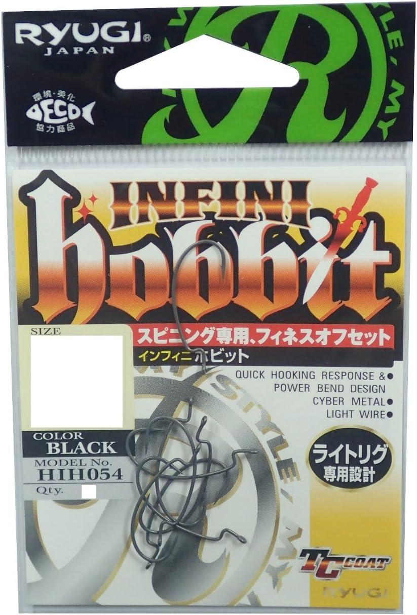 Ryugi HIH054 Infini Hobbit Light Wire Worm Hooks Size 2 4221
