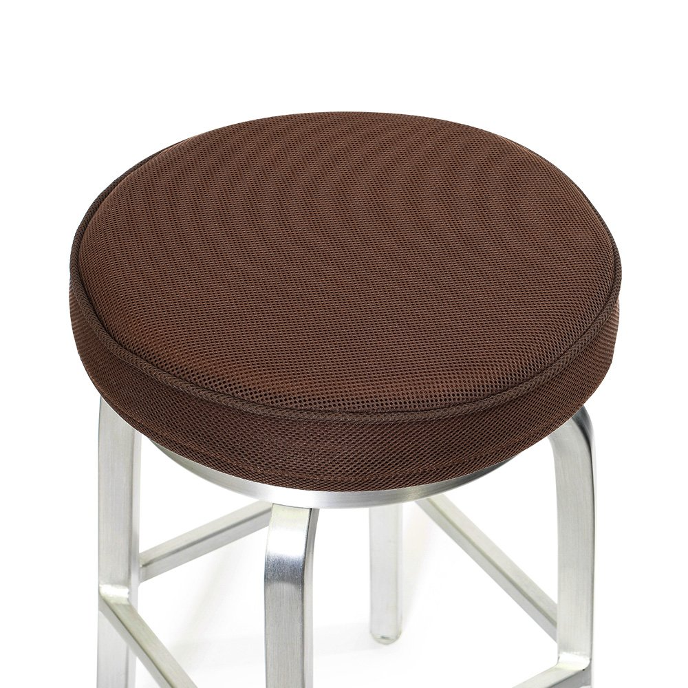 memory foam bar stool covers round cushion 14 brown ebay