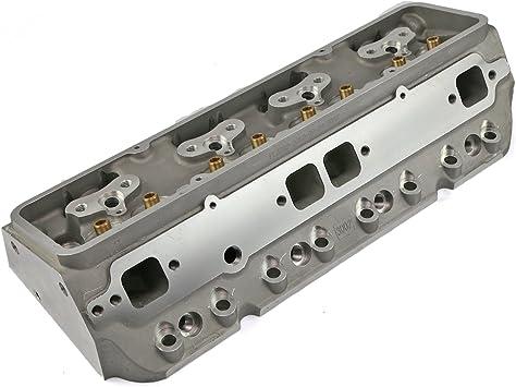 Chevy SBC 350 190cc 64cc Angle Plug Cast Bare Aluminum Cylinder Head