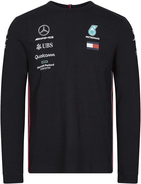 XL Mercedes Benz AMG Formula 1 Petronas White Long Sleeve Drivers T-Shirt