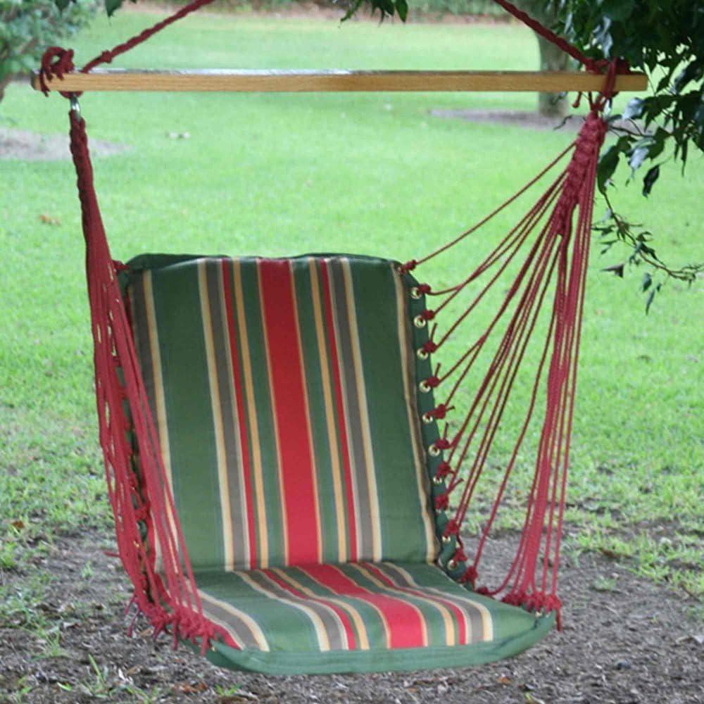 Pawleys Island Hammocks Single Cushioned Swing – Garden