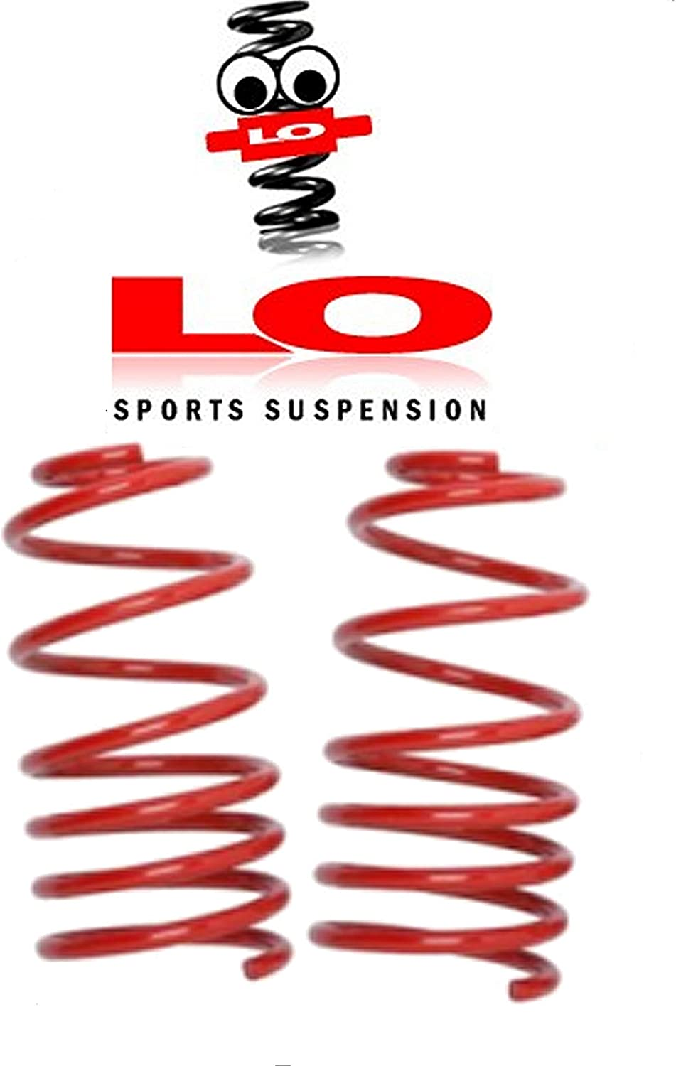 Lo Suspension Lowering Springs 10244 fronts 40mm A4 AVANT 2WD B8 08-15 1.8 TFSi 2.0 TFSi /& 2.0 TDi NOT S-LINE MODELS