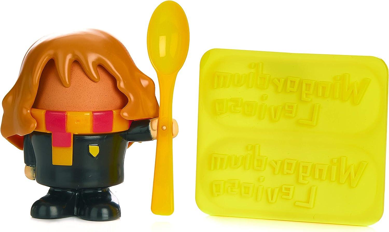 Paladone 5055964737184 Hermione Granger Huevera Set de desayuno – Producto oficial de Harry Potter, plástico