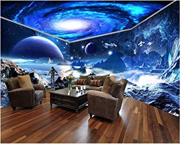 Malilove Mur De Papier Imperméable Star Wars Star Sky Espace Thème