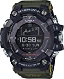 CASIO G-SHOCK RANGEMAN GPS Navigatioin Solar Bluetooth Green Watch GShock GPR-B1000-1B