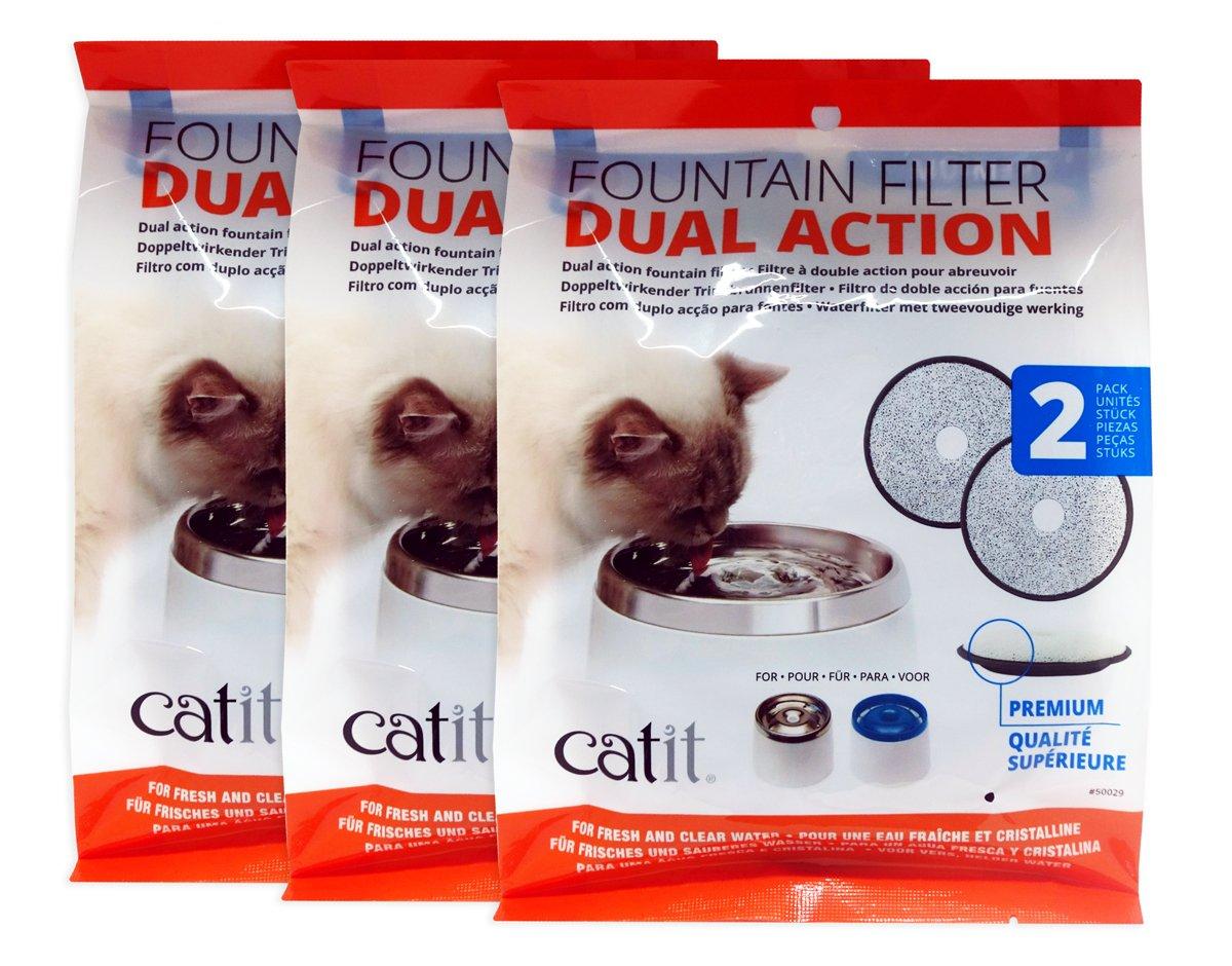 Catit 50029 Premium 2 filtro de recambio Pack Fresh & Clear ...