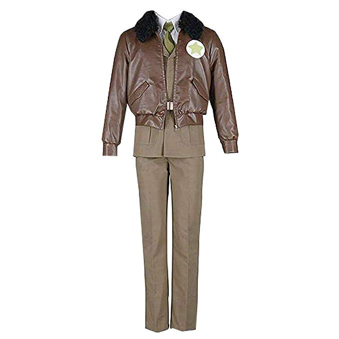 Amazon.com: Conjunto completo de disfraz de uniforme militar ...