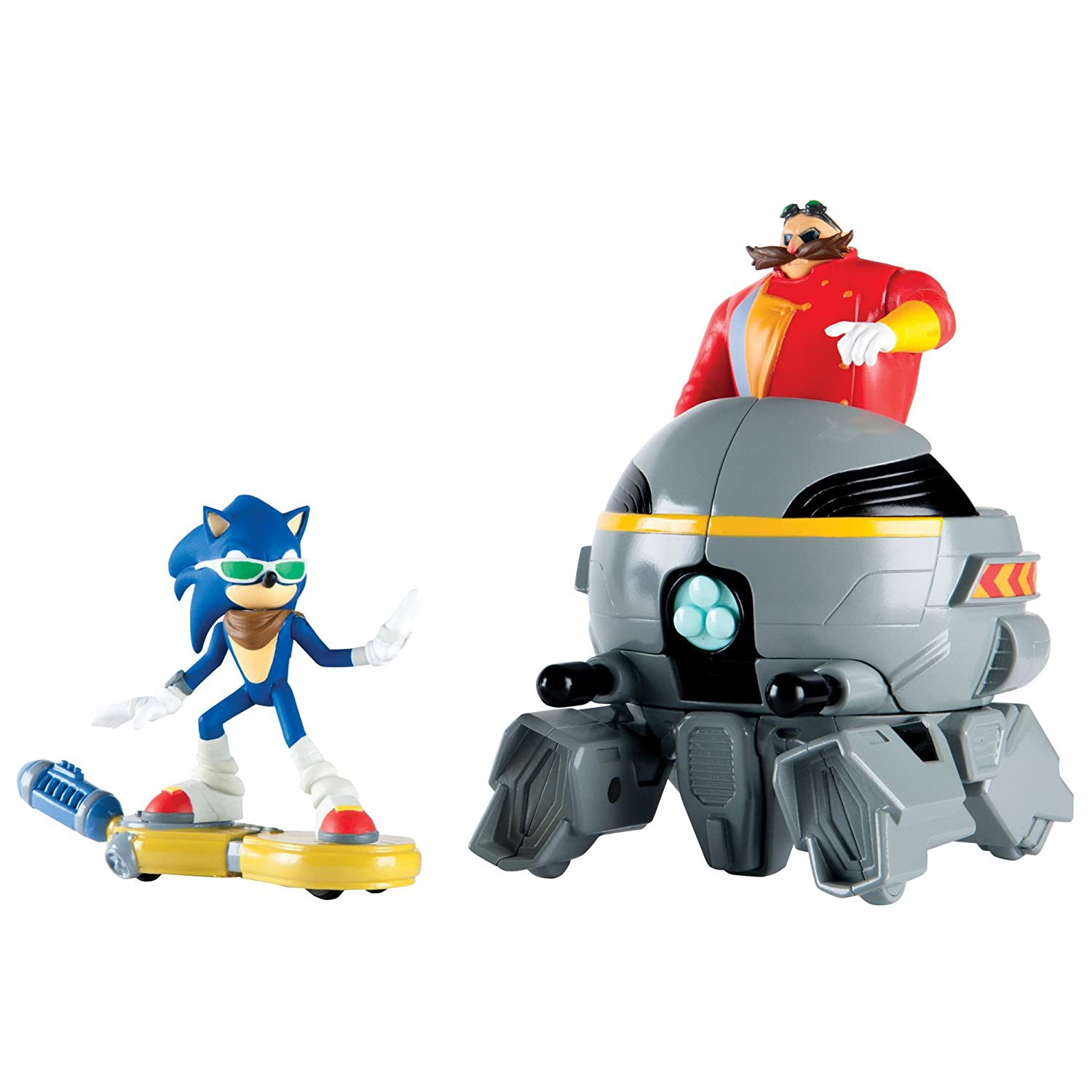 Amazon.com: TOMY Sonic Boom Sonic Vs. Eggman Set: Toys & Games