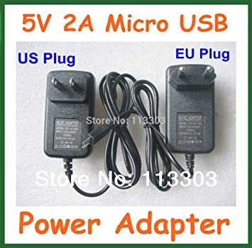 ARBUYSHOP 10pcs 5V 2A cargador micro USB para Chuwi VI10 Hi8 ...