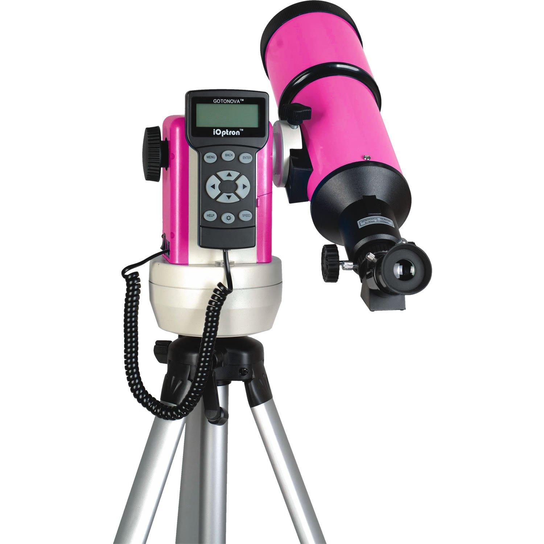 iOptron 9801 SmartStar-R80 GPS Telescope (Pink) by iOptron