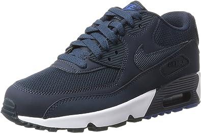Nike Air Max 90 Mesh GS, Chaussures de Gymnastique Fille