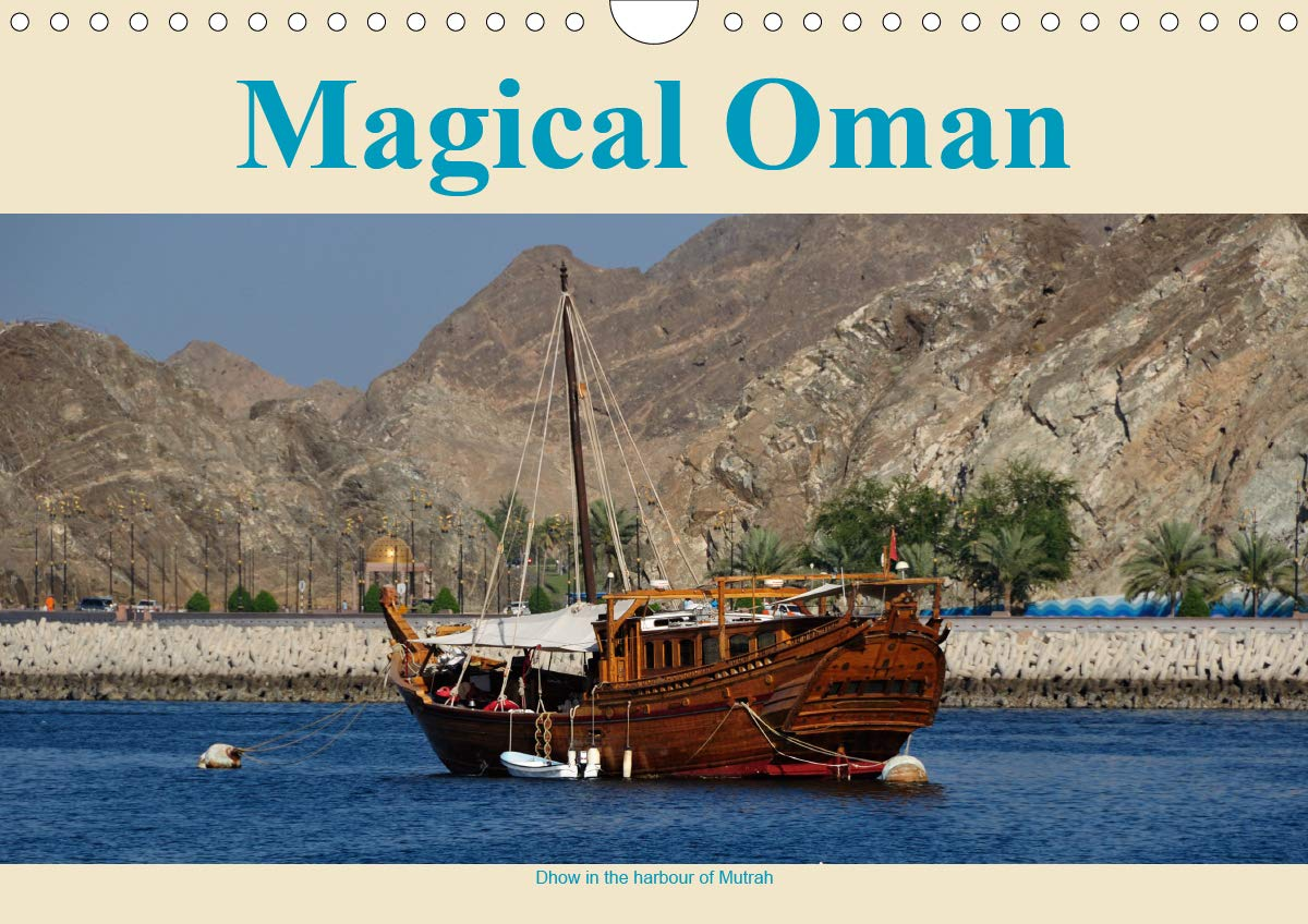 Magical Oman UK Version  Wall Calendar 2020 DIN A4 Landscape