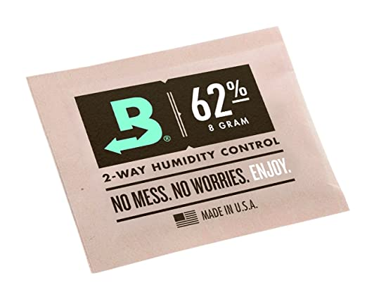 Get Boveda 62 Humidipaks online at Amazon.com for easier cannabis curing!