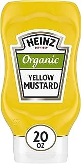 product image for Heinz Organic Yellow Mustard (20 oz Bottle)