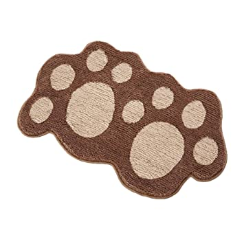 Amazon Com Dog Footprint Non Slip Area Floor Rug Inside Front Door