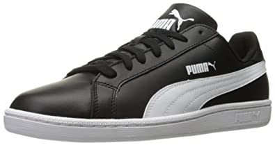 99080eda23a PUMA Men s Smash L Fashion Sneaker Black White 4 ...