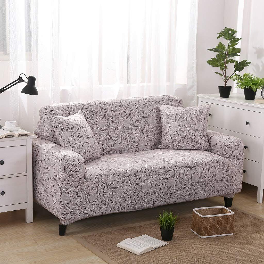 Sofá universal de tres asientos con deslizamiento ajustado y ...