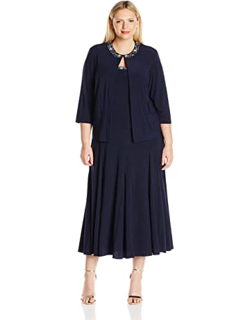 purchase original promo codes exquisite style Plus Size Mother of the Bride Dresses | Amazon.com