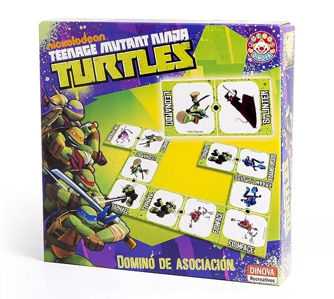Nickelodeon - Tortugas Ninja, dominó de asociación (Dinova ...