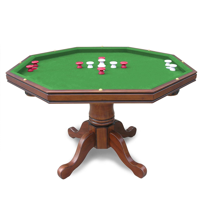 Amazon.com : Hathaway 3 In 1 Poker Table, Walnut : Poker Table Wood :  Sports U0026 Outdoors