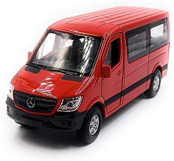 Onlineworld2013 Sprinter Fenster Zufällige Farbe Modellauto Auto Maßstab 1 34 Lizensiert Auto
